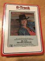 MEL TILLIS Your Body Is An Outlaw 8 Track Cartridge Tape BRAND NEW SEALED NOS