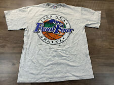 VTG 1995 NCAA Basketball Final Four March Madness Tournament Seattle T Shirt Lg