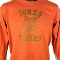 Jones Tigers Volleyball T Shirt Vintage 80s High School Made In USA Size Medium