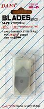 5 spare blades, use with DAFA JAKAR bi-directional Mount board cutter