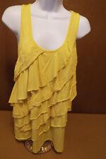 Junior's yellow racerback tee shirt size XL (15-17)