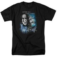 Severus Snape After All This Time? Always. Harry Potter Men's Adult T-Shirt Tee