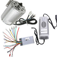 48V 1800W Electric Brushless Motor + Controller Box + Charger fit Scooter Buggy
