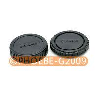 Rear Lens + Camera body Cover cap for Olympus OM 4/3