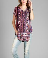 Plus Size 22 Long Tunic Top -660
