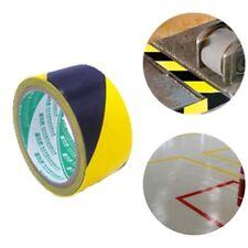 59 Feet Warning Tape Warehouse Floor Safety Barrier Waterproof PVC Yellow Black