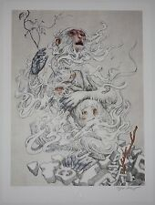 ~Year of the Monkey~ Art Print Poster by James Jean *S/N of 472*