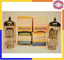 Vintage ECF80 (6BL8) tube, Philips, Mazda, NOS, NIB, 1 pcs TESTED