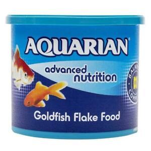 Aquarian Goldfish Food Flake Fish Food 200gm