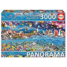 Puzles cartón de fantasía color principal multicolor