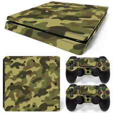 For PS4 Slim Camouflage Camo Skin Decal Playstation 4 slim  wrap vinyl sticker