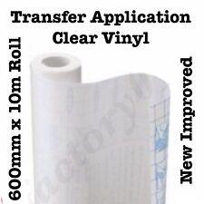 Clear Transfer Application Vinyl Film Paper Tape for Plotter Cutter 600mm x 10m