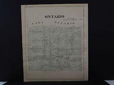 New York, Wayne County Map, 1904 Township of Ontario Q3#19