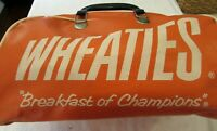 "WHEATIES Cereal ""Breakfast of Champions"" Retro Duffel Bag Orange Collectible"