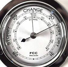 Klassisch Chrom Barometer 110mm 1506bch