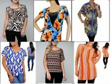 Lot Wholesale 30 Pc Women Mixed TOPS SHIRTS BLOUSES Dresses Plus Size XL 2X 3X