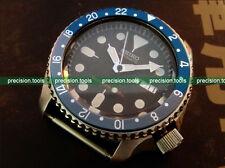 Blue Grey Batman Color 1675 Style GMT Replacement Insert For Scuba SKX007 009