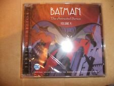 BATMAN ANIMATED SERIES Original TV soundtrack CD Volume 4 2CD SET DANNY ELFMAN