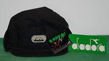 vintage diadora nos BNWT ski earflap Cover Cap Hat ITALY shiny satin BEECHFIELD