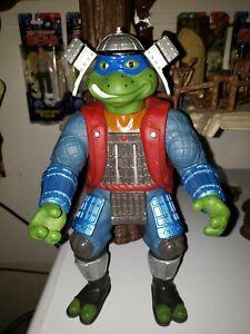 """Teenage Mutant Ninja Turtles 11"""" Leonardo  Rare 1993 Playmates Sofvi Figure"""