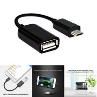 Micro USB male Host to USB Female OTG Cable Adapter For Samsung Galaxy Android