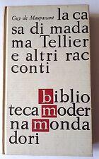 LA CASA DI MADAMA TELLIER E ALTRI RACCONTI Guy de Maupassant  BMM 1962