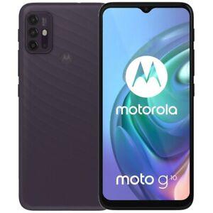 "Moto G10 (128GB, 4GB) 6.5"" Dual SIM GSM 4G LTE US + Global Unlocked XT2127-2"