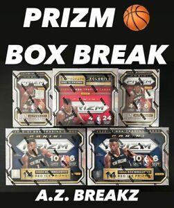 PORTLAND TRAIL BLAZERS 2020-21 PANINI NBA PRIZM RETAIL MEGA BLASTER BOX BREAK #4