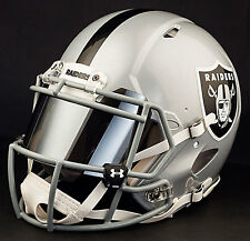 ***CUSTOM*** OAKLAND RAIDERS Full Size NFL Riddell SPEED Football Helmet