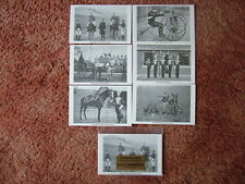 THE BRITISH ARMY - CAVALRY REGIMENTS (1). 6 card set.  Mint Condition.