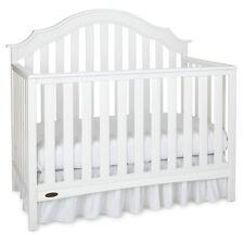 Graco Addison 4-in-1 Convertible Crib, White