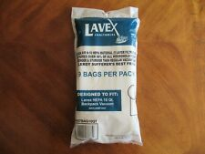 (9-Pack) Lavex Janitorial 10 Qt. HEPA Microfilter Vacuum Janitorial Cleaning Bag
