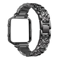 Stainless Steel Replace Watch Strap Band + Metal Frame For Fitbit Blaze Tracker.