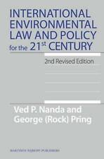 International Environmental Law and Policy for the 21st Century: 2nd Revised Edi
