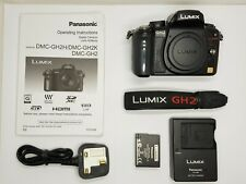 Immaculate/Boxed Panasonic LUMIX DMC-GH2 Digital Camera (Body Only)