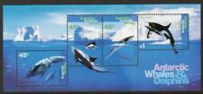 Australian Antarctic Terr Scott 094-097s, MNH, Fish Souvenir Sheet of 4 stamps