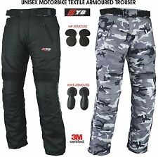 KYB Thermal Waterproof Motorcycle Trouser Motorbike Textile Trousers Pant Armour