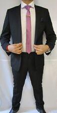 Designer Men's Formal Black 2 Piece Suit Slim Fit - Free Alterations