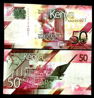 Kenya 50 Shillings 2019 Banknote World Paper Money UNC Currency Bill Note