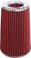 Filtro aria sportivo  Bi-CONICO rosso, universale ø 77 mm alte prestazioni