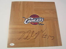 TRISTAN THOMPSON CLEVELAND CAVALIERS SIGNED AUTOGRAPHED FLOORBOARD JSA COA