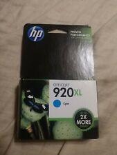 HP #920XL Cyan Ink Cartridge