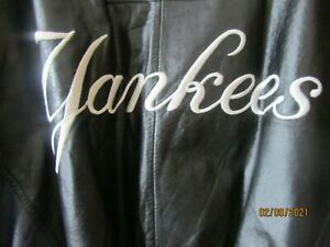 New York Yankees MLB Genuine Merchandise Leather Jacket/Coat (Large) New