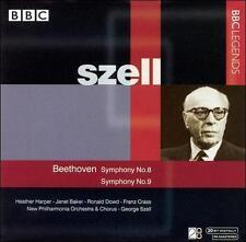 Beethoven: Symphony No. 8; Symphony No. 9, New Music