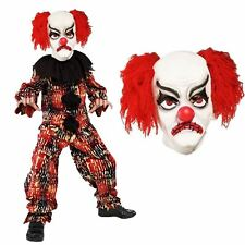 Smiffys Costume Clown Spaventoso comprende Top Pantaloni e Maschera (z2q)
