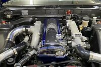 1JZ GTE VVTi Clear Cam Timing Belt Cover Fit TOYOTA 1jz Vvti Engine