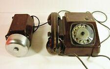 Retro Rotary Telephone TAH-B Wall Soviet Phone USSR 1970s