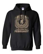 Aquarius All Men Are Created Equal Best Born In February DT Sweatshirt Hoodie