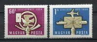 32357) HUNGARY 1958 MNH** Letter Writing Week 2v. Scott#