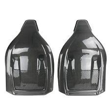 Carbon rücklehnen-cubierta asientos deportivos asientos adecuado para audi a3 s3 rs3 8v (12+)